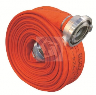Zásahová hadica / Pyrotex C 38 PES – R Superšport Reflex Orange, 20m