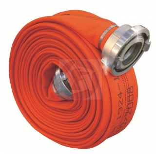 Hadica Pyrotex C42 PES – R Superšport Reflex Orange so spojkou kovanou ( AWG/20m
