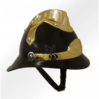 Replika - slávnostná prilba hasičská - čierna c637f442e5d