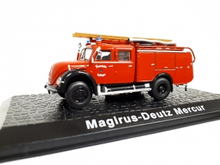Kovové auto model Magirus-Deutz Mercur