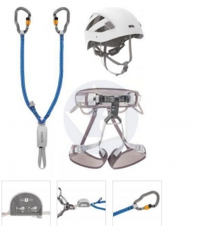 Ferratová sada PETZL Kit Via Ferrata Vertigo